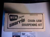 This is a WEN ,Electric SHARPIE chainsaw sharpening