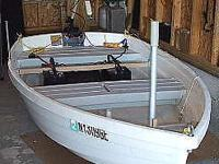 Walker Bay 83 x 44 unsinkable solid plastic dinghy with