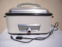 ELECTRIC DOUGH PROOFER OR FOOD WARMER IN USED BUT