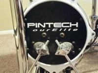 Type: Drums Pintec Tour Elite V-Drums All mesh heads w/