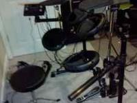 $450 or best offer. I've had this electric drum set for