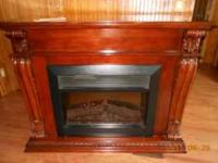 Dimplex electric fireplace - 120 volts, 1500 watts -