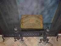 ELECTRIC FIREPLACE HEATHER INSERT FAUX LOGS $50.00 MUST