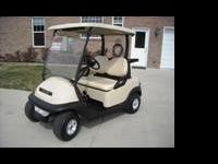 2007 Club Car Prescedent Electric Golf Cart. 48 volt