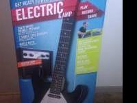 First Act Fender Electric Guitar with amp for sale.