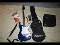 This is a Silvertone guitar and amp its just like new