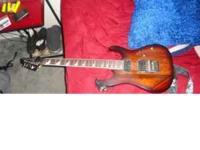 Electric Guitar IBANEZ-RG $300.00 firm wood painted