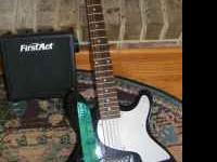 This is a 1st act electric guitar,amp with cable and a