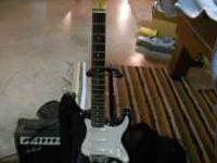 Electric Guitar, used very little, includes nylon case,