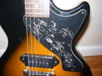 Signed by the group Sevendust in concert in the 90's