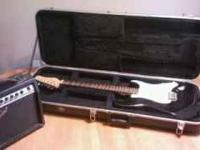 Jay Turser Electric Guitar and Amp for sale. Bought a