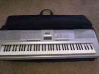 Great price for both Keyboard is Yamaha n Guitar a
