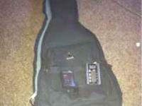 Electric guitar backpack/case, seiko SAT 100
