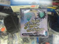 WE HAVE FOR SALE A ELECTRIC GUITAR STRINGS  IT IS NEW