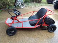 This is a nice little electric go-cart. In good