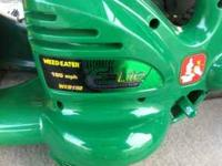 WE ARE SELLING ARE ELECTRIC LEAF BLOWER, ITS IN GREAT