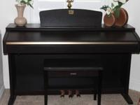 Like New-Yamaha Clavinova Piano- Dark Rosewood
