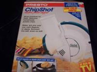 Electric potato chip slicer make fresh delicious home