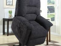 "Very strong recliner chairs with ""Power Lift"" function"