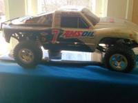 I have a amsoil rc truck needs a battery and a motor