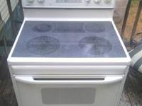I have an electric range for sale had for three years a