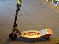 2 razor scooters for 40 needs new batteries call or