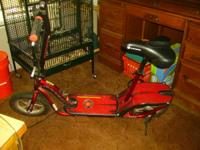 SCOOTER 150.00 FRIM RED WITH CHARGER GREAT SHAPE CALL