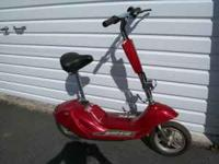 This is an electric Scoot-N-Go scooter that I bought