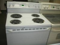 Electric stoves, refurbished, repainted, totally