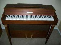 Bridenbecker Electric Piano. One upper F key doesn't