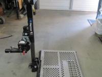 Harmar Mobility 12 volt electric wheelchair carrier and