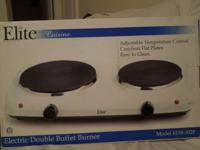 This is a brand new never been opened Double buffet