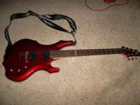 This is a barley used ESP LTD f50 Electric guitar. It
