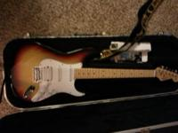 Sunburst Not Authentic Fender Style Like New Barely