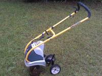 Ryobi Electric Tiller. Great for tilling up gardens or