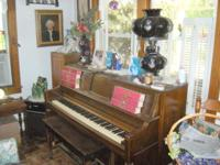 Harman Peck, Spinet, Player Piano, Electrified, with