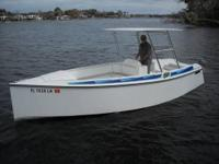 This 21' Electro Cruise Boat and Trailer has NEW