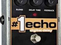 Electro Harmonix #1 Real Echo Digital Deal pedal. About