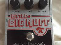 "For sale is a ""Electro-Harmonix Little Big Muff Guitar"