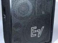 Electro-Voice S1503 speaker cabinets. Great sound for