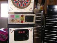 EXCELLENT CONDITION PUBTIME DART MACHINE WHICH HAS JUST