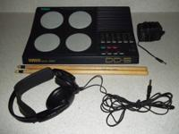 - Yamaha DD-5 drum equipment w / 4 pads that you can