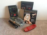 This is a set ofelectronic games from the 80's. Boy