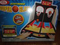 Slam dunk basketball game all pieces are there