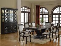 REALLY ELEGANT 7PC FORMAL DINING SET! A MUST SEE. ALL