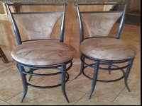 TWO ELEGANT BAR STOOLSTwo very nice 25 inch floor to