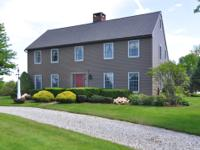 Deerpath Farm is located at the end of a long private