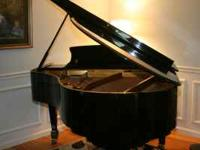 "6' 1"" SAMICK SG 185 GRAND PIANO FOR SALE. THIS PIANO IS"