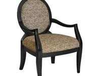 """This contemporary """"Espresso"""" accent table is a great"""