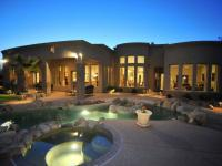 Elegant home in exclusive, gated Stone Canyon golf